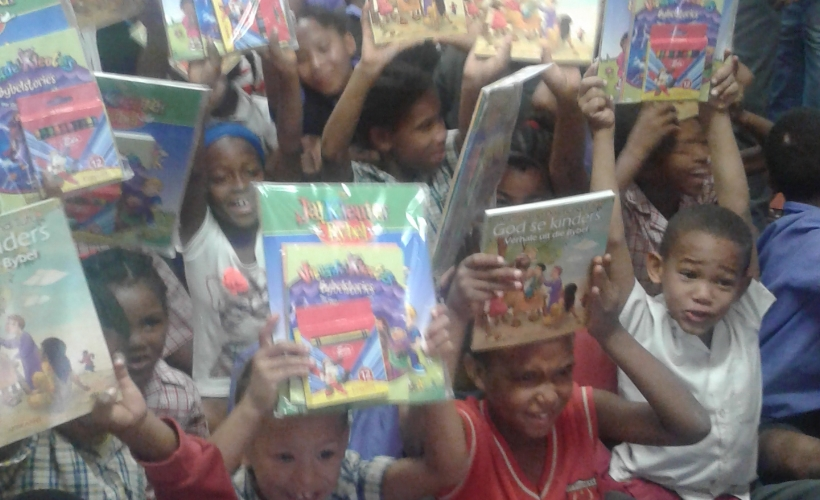 Christian Literate Fund donated Bible Books